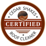 Certified cedar shake roof cleaning in Michigan by Roof Cleaner www.yourroofcleaner.com - Copy