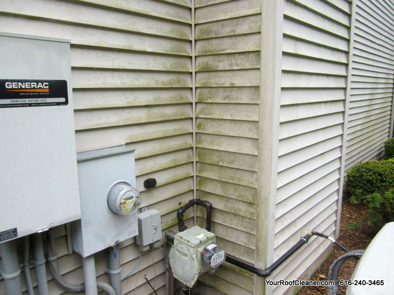 Exterior House Cleaning   West Michigan House Washing Service