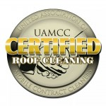 UAMCC Certified Roof Cleaner logo