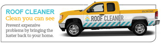 your roof cleaner pressure washing and soft washing truck
