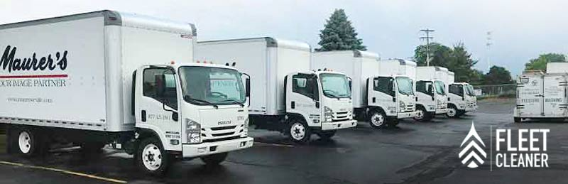 roof cleaner mobile truck washing service in west michigan and grand rapids area