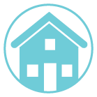 exterior house washing icon