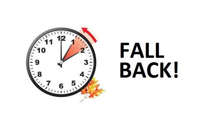 Quot Fall Back Quot This Weekend Roof Cleaner