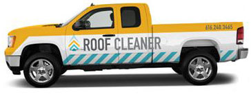 roof cleaner house washing truck in grand rapids, mi