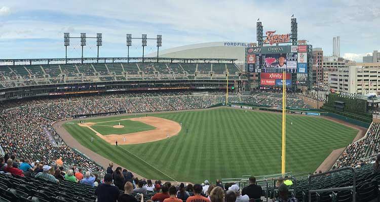 Baseball Comerica Park Detroit