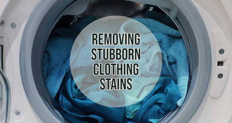 Removing Clothing Stains